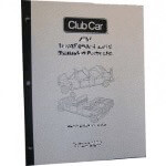 Gas Club Car DS Service Manual (Fits 1981-1999)