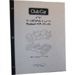 Electric Club Car DS 48-Volt Powerdrive Supplemental Service Manual (Fits 2000)
