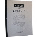 Electric Club Car DS 48-Volt Powerdrive Plus Supplemental Service Manual (Fits 2000)