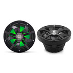 "Clarion 6.5"" Marine Coaxial Speakers w/ RGB Lighting (Pair)"