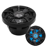"Clarion 10"" DVC Marine Subwoofer w/ RGB Lighting"