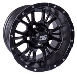 GTW 12x7 Matte Black Diesel Wheel