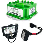 Club Car DS/ Precedent with IQ/ Excel, i2 Navitas 440-Amp 48-Volt Controller Kit With BlueTooth