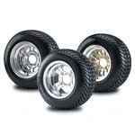 "Buggies Unlimited 10"" Tire and Wheel Combo Kit - Universal fit"