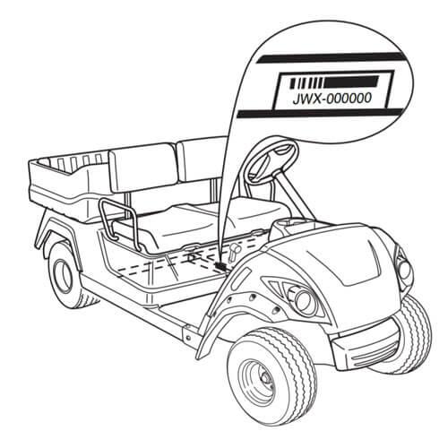 Yamaha Drive Golf Cart